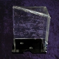 6 Deck Discard Holder Clear Acrylic with top