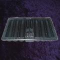 Thick Black Poker Tray With Hole For Playing Cards