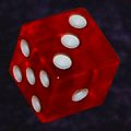 17mm Red Craps Dice