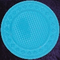 Light Blue poker chip diamond rim 4gm