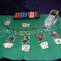 Blackjack Table Top Equipment Hire  incl. Chips