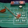 Craps  Table Top Equipment Hire  incl. Chips