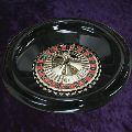 Plastic roulette wheel 40cm / 16 inch Single Zero '0'