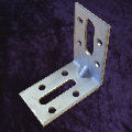 Steel corner bracket for BJ with 8 fixing screws 18mm