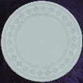 Light Grey poker chip diamond 4gm
