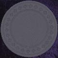 Grey Purple poker chip diamond rim 4gm