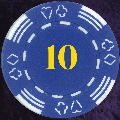 Blue Four Tab Numbered 10