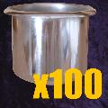 Stainless Steel Drop In Cup x 100