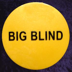 Big Blind Button 49mm Diameter To Buy From Poker Shop