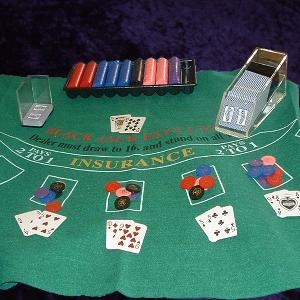 Blackjack Hire For Your Own Tabletop Photo